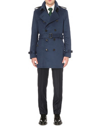 Burberry Modern Fit Wool And Cashmere Blend Trench Coat