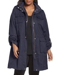 Plus size monroe utility trench coat medium 3686400