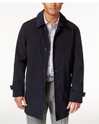 Kenneth Cole New York Ray Button Front Raincoat