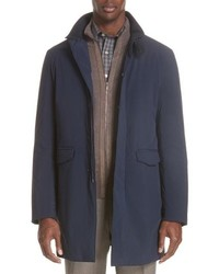 Canali Stretch Car Coat