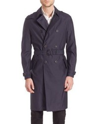 Burberry Wool Silk Trenchcoat