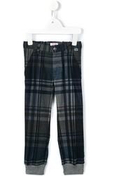 Il Gufo Plaid Trousers