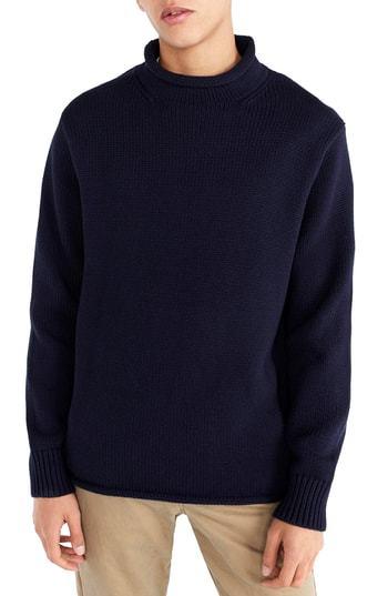 J.Crew 1988 Rollneck Cotton Sweater
