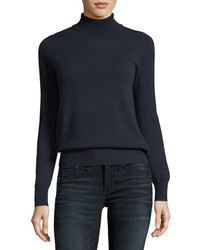 Neiman Marcus Cashmere Collection Classic Cashmere Turtleneck