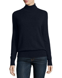 Cashmere collection classic long sleeve cashmere turtleneck plus size medium 3638375