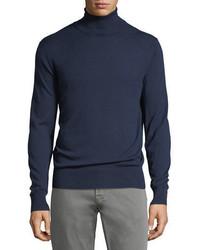 Cashmere silk turtleneck sweater medium 5359641