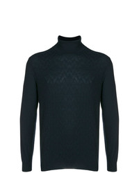 Loro Piana Cashmere Textured Turtleneck Sweater