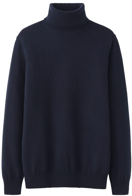 ... Turtlenecks Uniqlo Cashmere Turtle Neck Sweater ...