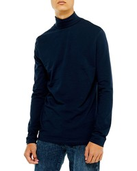 Topman Classic Fit Long Sleeve Turtleneck Shirt