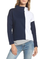 Crop colorblock turtleneck medium 4468540