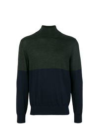 Joseph High Neck Novelty Knit Jumper