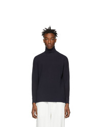 Blue Blue Japan Indigo Slub Turtleneck