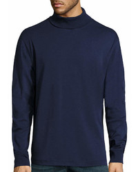 St. John's Bay Long Sleeve Legacy Interlock Turtleneck