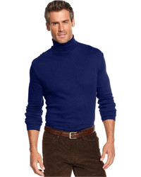 John Ashford Long Sleeve Turtleneck Interlock Shirt