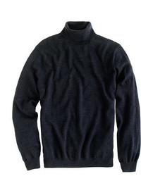 Merino wool turtleneck sweater medium 333774