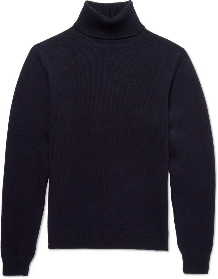 Ami Merino Wool Turtleneck Sweater | Where to buy & how to wear