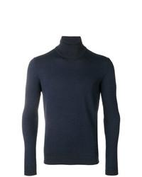 Patterned roll neck jumper medium 8238071