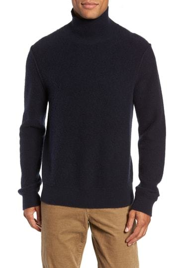 91c7b03a9f386 Vince Ribbed Cashmere Turtleneck Sweater