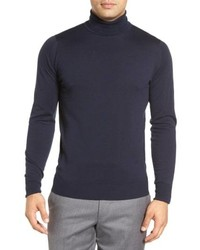 John Smedley Richards Easy Fit Turtleneck Wool Sweater
