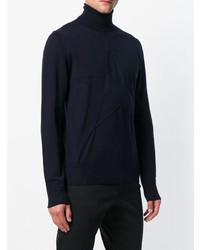 Just Cavalli Roll Neck Fitted Sweater