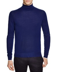 Hardy Amies Solid Merino Turtleneck Sweater 100% Bloomingdales