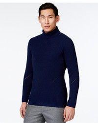 Vince Camuto Textured Turtleneck Sweater