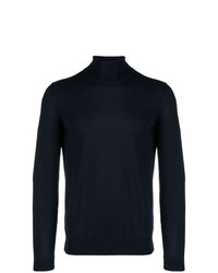 BOSS HUGO BOSS Turtle Neck Fitted Jumper