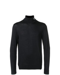 Emporio Armani Turtle Neck Fitted Sweater