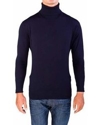 Valentino Turtleneck Sweater Dark Navy Blue