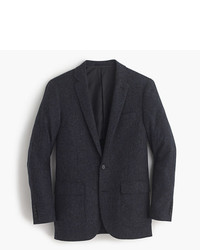 J.Crew Ludlow Blazer In Herringbone English Tweed