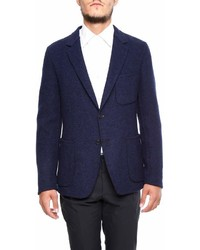 Prada Silk And Cashmere Blazer