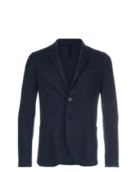 Harris Wharf London Tweed Two Button Blazer