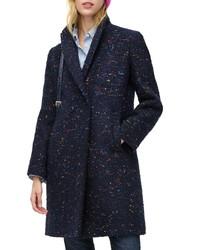 J.Crew Daphne Italian Tweed Topcoat