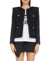Balmain Ribbon Tweed Jacket