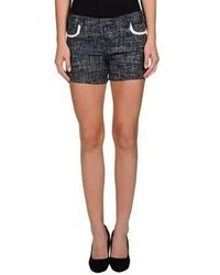 Navy Tweed Shorts
