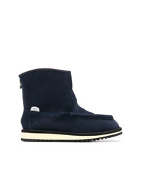 Suicoke Shearling Ankle Boots
