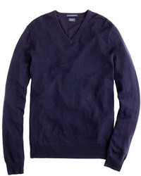 Navy v neck sweater original 395658