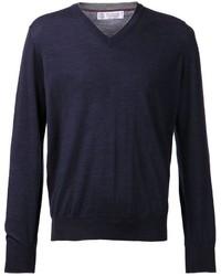 Brunello Cucinelli V Neck Sweater