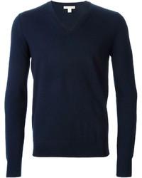 Burberry Brit Plain V Neck Sweater