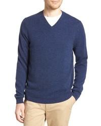 Cashmere v neck sweater medium 8595465