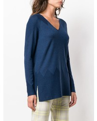 D-Exterior Dexterior V Neck Sweater