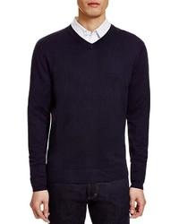 Glenshiel Silk Cashmere V Neck Sweater