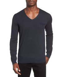 Boss Orange Kerpen Fineliner V Neck Sweater