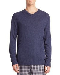 Hanro Knits Tops Ribbed Cashmere Blend Sweater