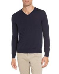 Eleventy Merino Wool Silk Tipped Sweater