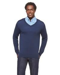 Merona Merino Wool V Neck Sweater