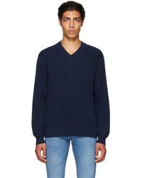 Polo Ralph Lauren Navy Cricket Sweater