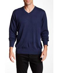Robert Graham Nolan V Neck Sweater