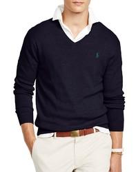 Polo Ralph Lauren Pima V Neck Sweater