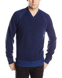 Robert Graham The Cottage Long Sleeve V Neck Knit Sweater